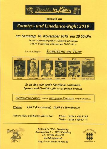 Country- und Linedance-Night 2019