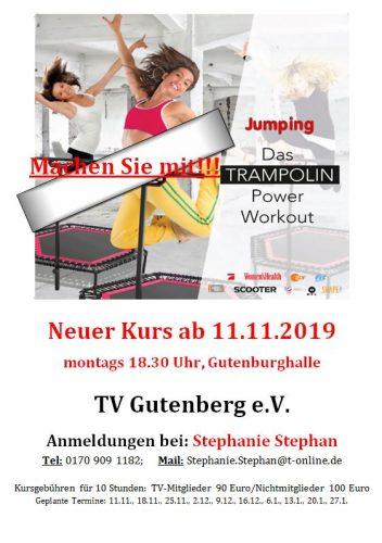 Neue Jumping Termine im Winter!